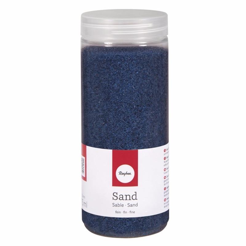 Fijne zandkorreltjes blauw