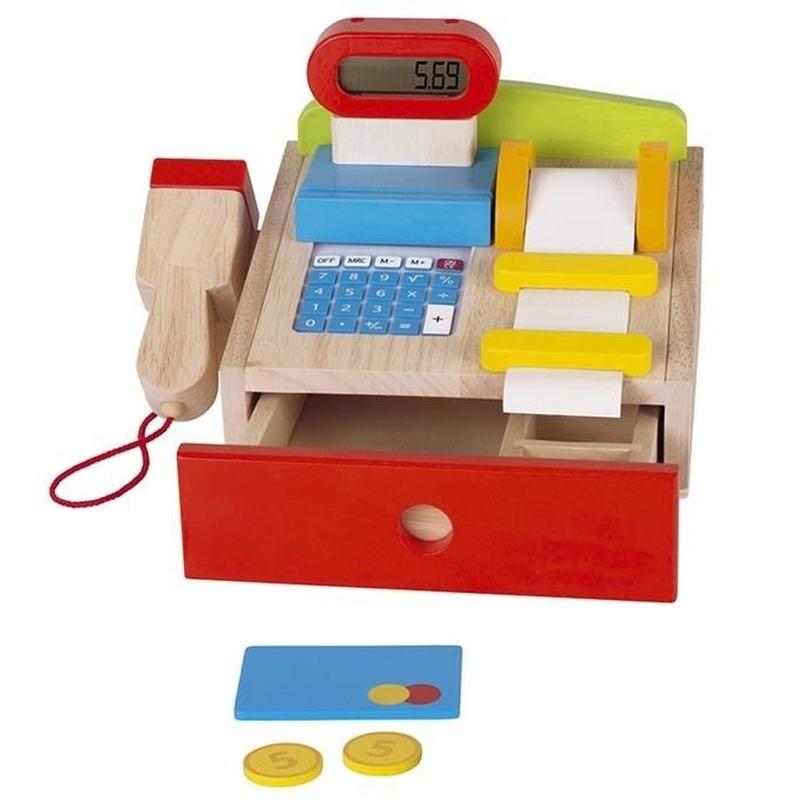 Functionerende speelgoed kassa