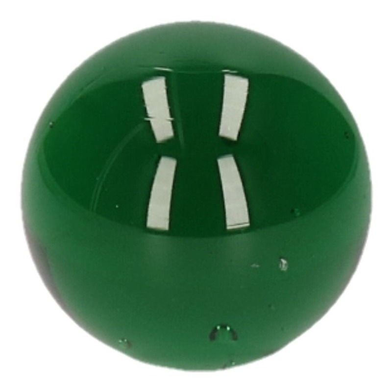 Glazen knikker groen 6 cm