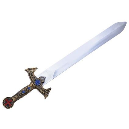 Gouden nep zwaard 58 cm