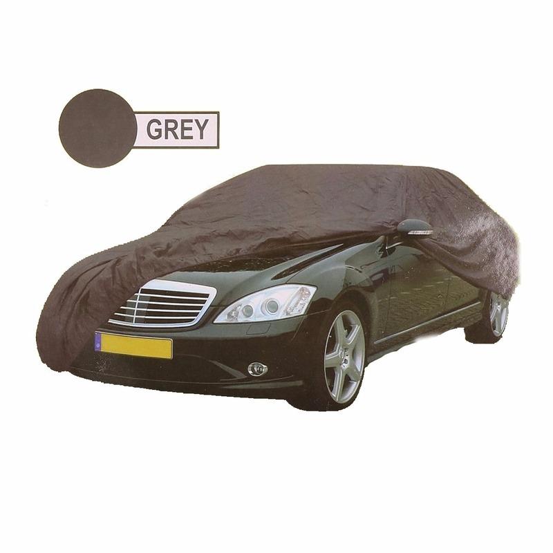 Grijze auto beschermingshoes XL 534 x 178 x 120 cm
