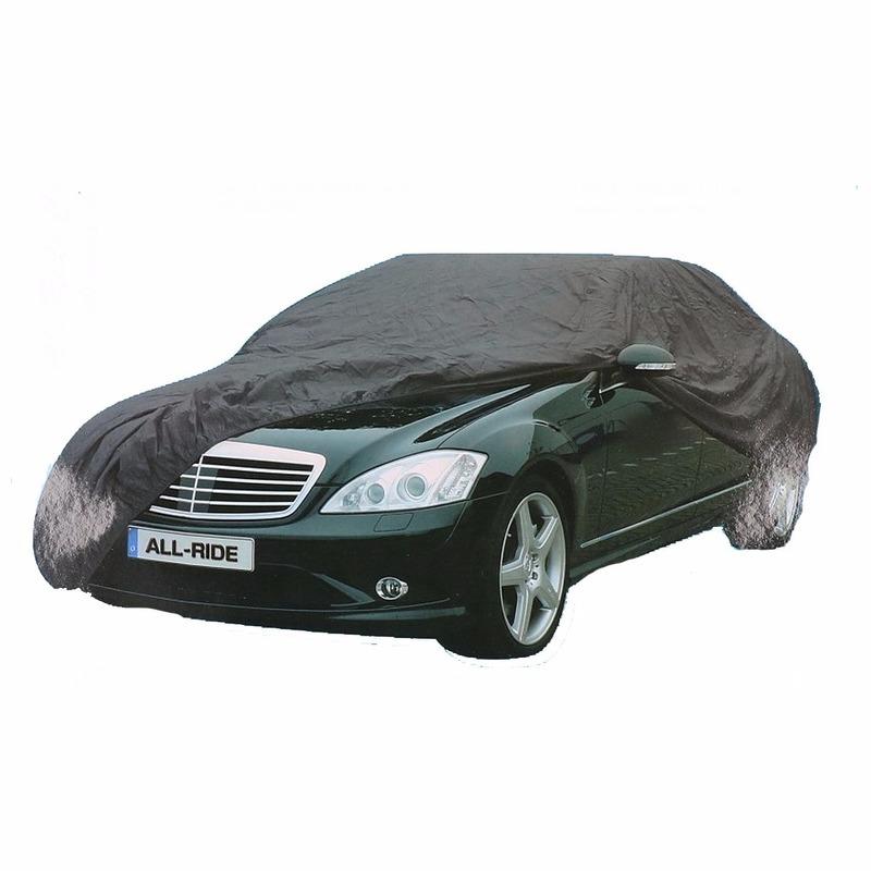 Grijze auto beschermingshoes
