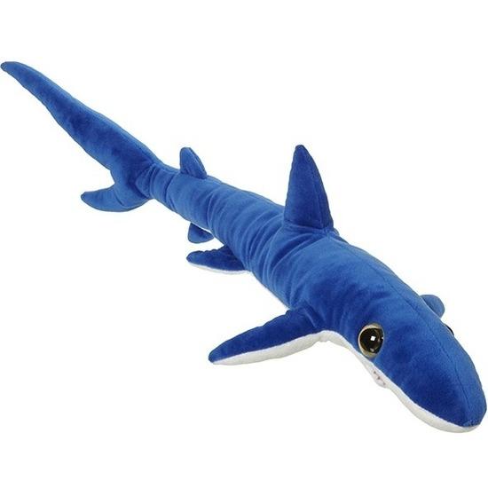 Grote blauwe haaien knuffels 110 cm knuffeldieren
