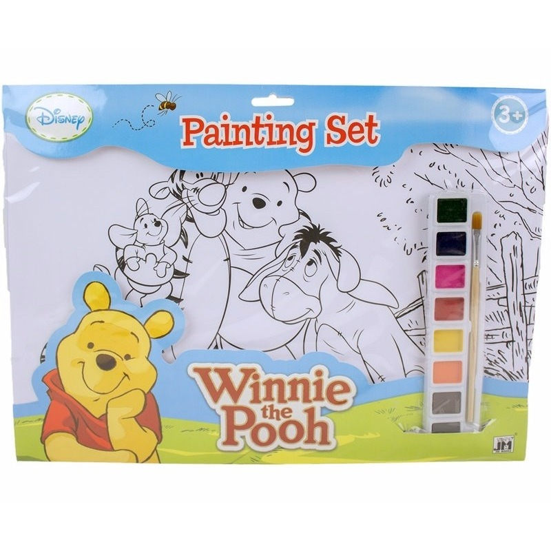 Hobby Verfsetje Winnie De Poeh A3 Kleurplaten
