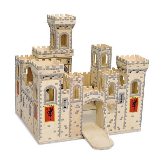Houten speel kasteel Medieval