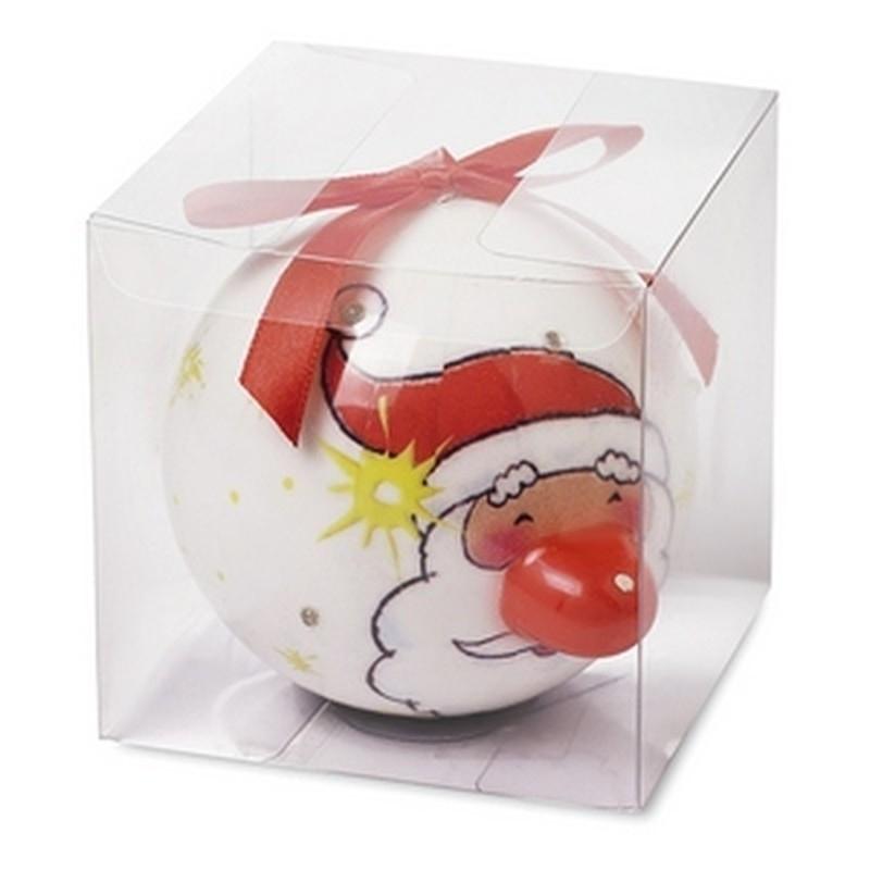 Kerstbal kerstman met verlichting | Sinterklaas versiering, kostuum ...