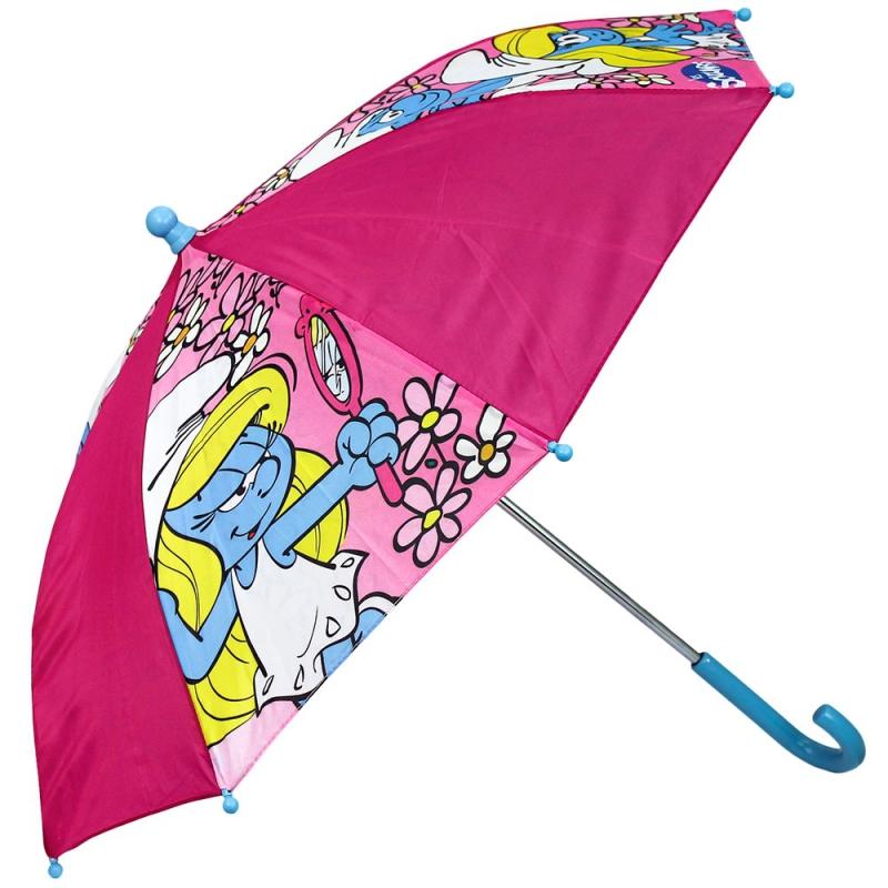 Kinder Paraplu Smurfin 65 Cm