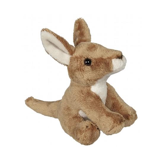 Knuffel kangoeroe 15 cm