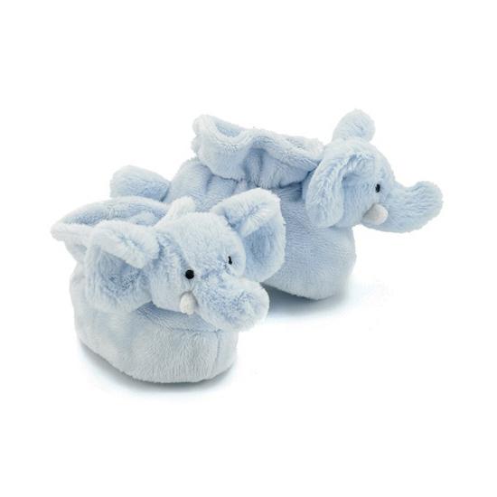 Kraamkado blauwe olifant slofjes