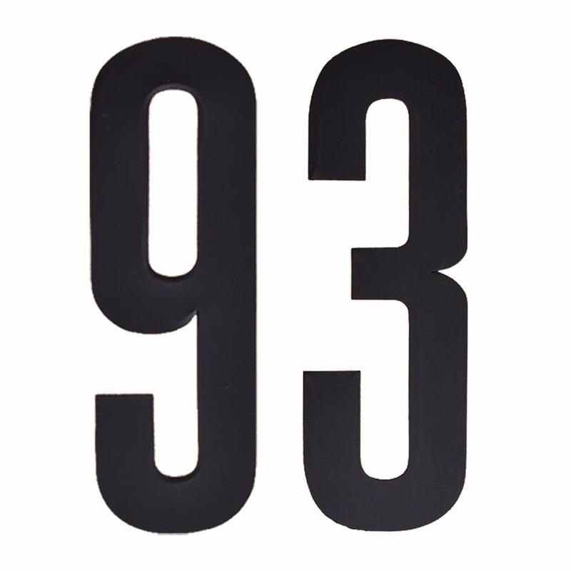 Leeftijd cijfer stickers 93 jaar