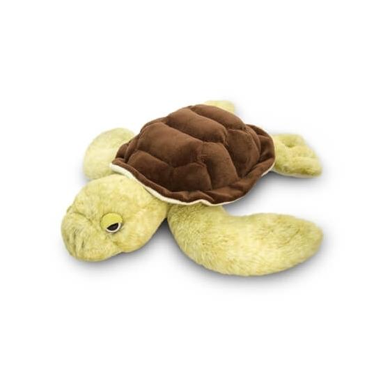 Liggende Zeeschildpad Knuffeldier 35cm