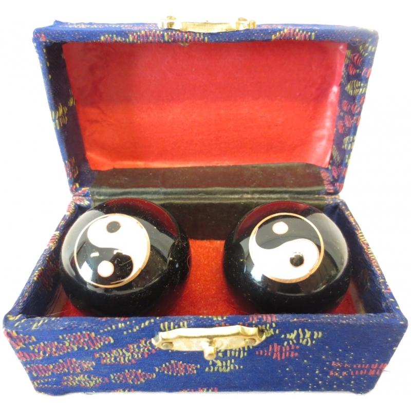 Gadgets Geen Massagekogels in kistje 4.5 cm Yin Yang