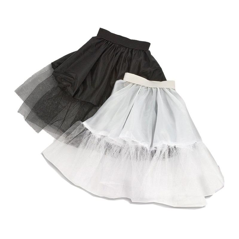Petticoat wit voor meisjes