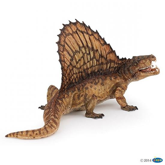 Plastic speelfiguur dimetrodon dinosaurus 16 cm