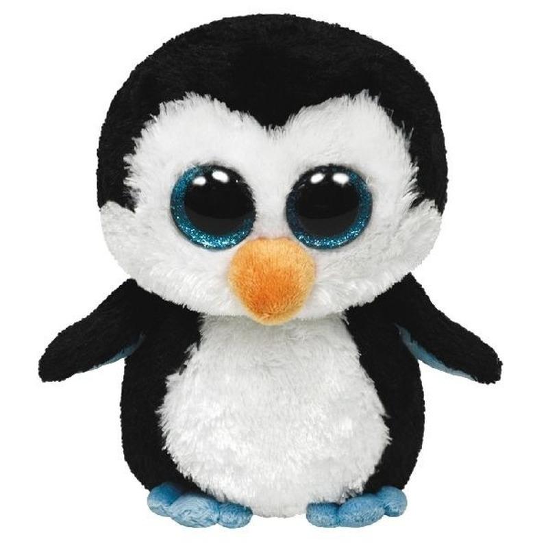 Pluche Beanie knuffel pinguin 42 cm