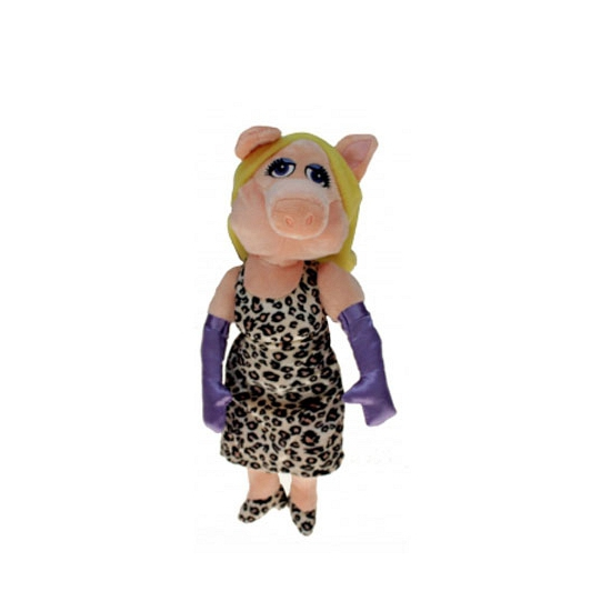 Pluche muppet knuffels Miss Piggy 35 cm