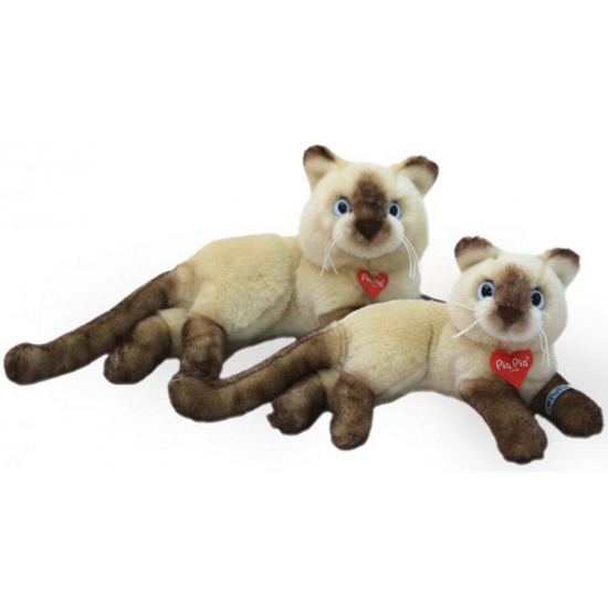 Pluche Siamees knuffel 30 cm