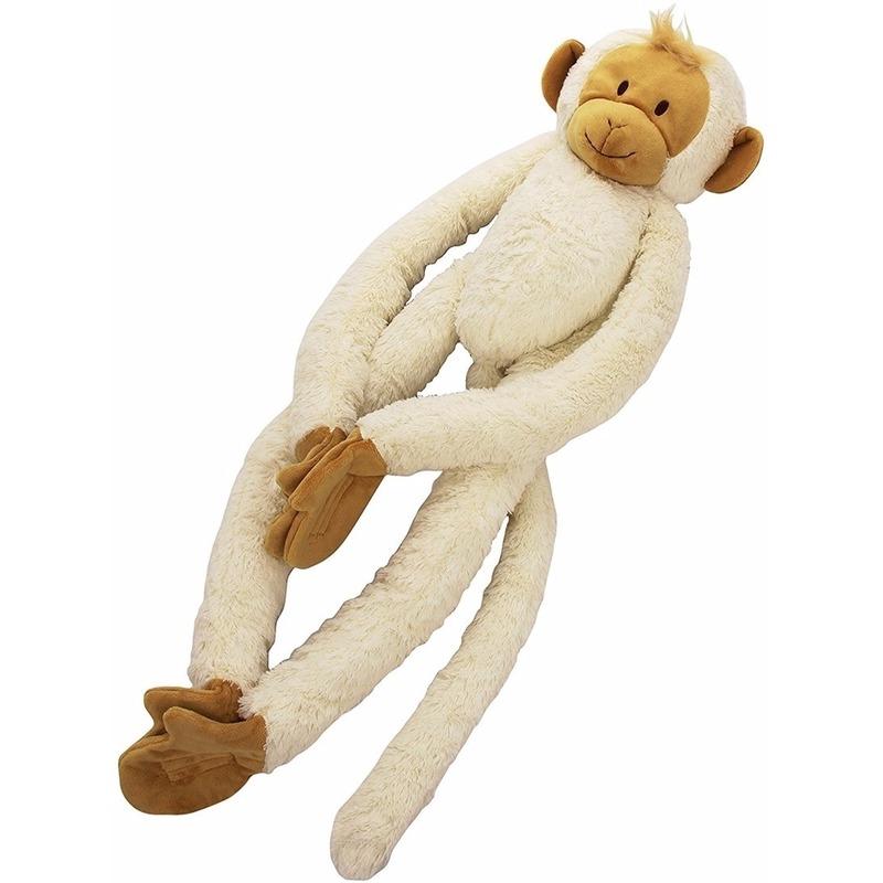 Pluche slinger aap knuffels 23 cm