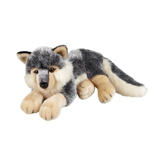 Pluche Wolf 50 Cm