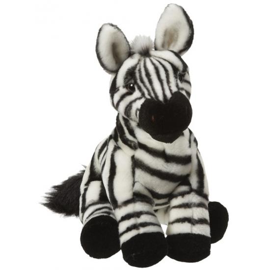 Pluche zebra knuffels van 27 cm