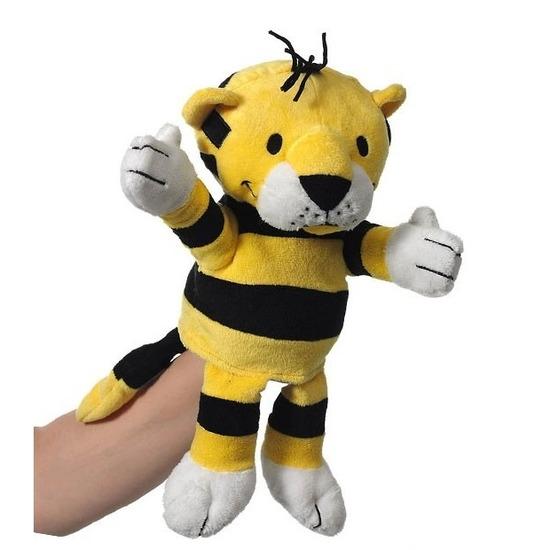 Poppentheater handpop tijger 22 cm