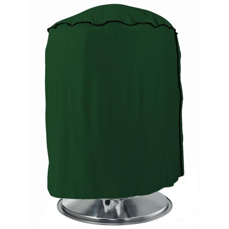 Ronde groene hoes voor de barbecue 50 cm