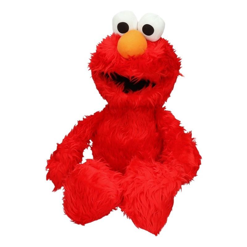 Sesamstraat grote knuffel Elmo 60 cm