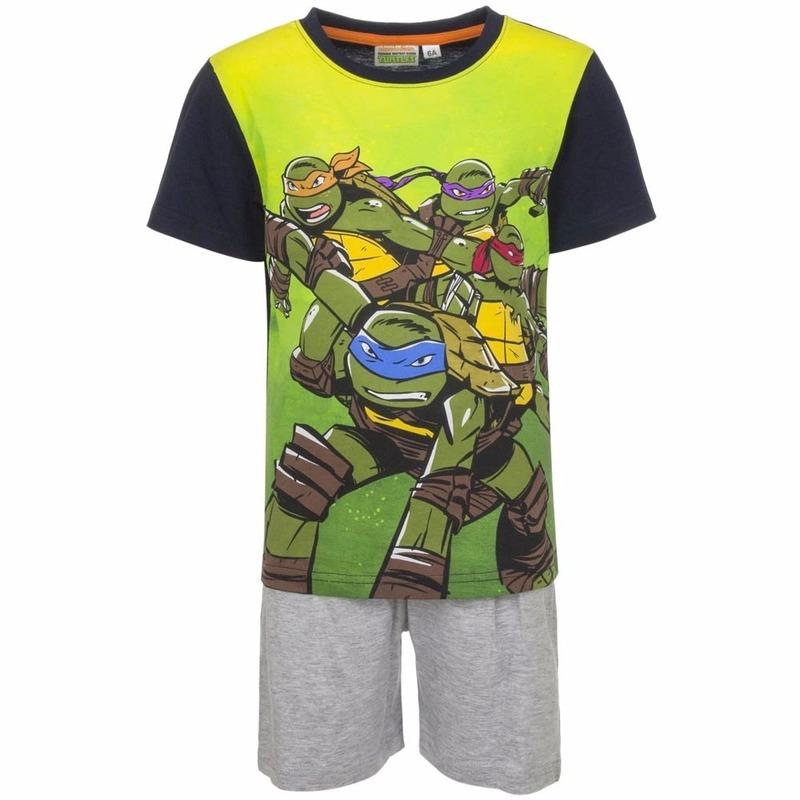 Ninja Turtles Shortama Ninja Turtles grijs Overige kleding
