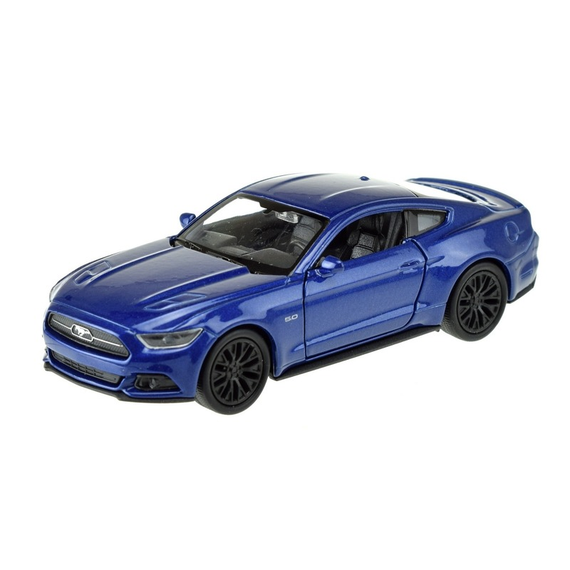 Speelgoedauto Ford Mustang GT 1:36 blauw