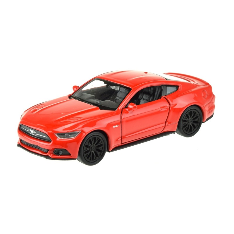 Speelgoedauto Ford Mustang GT rood 1:36