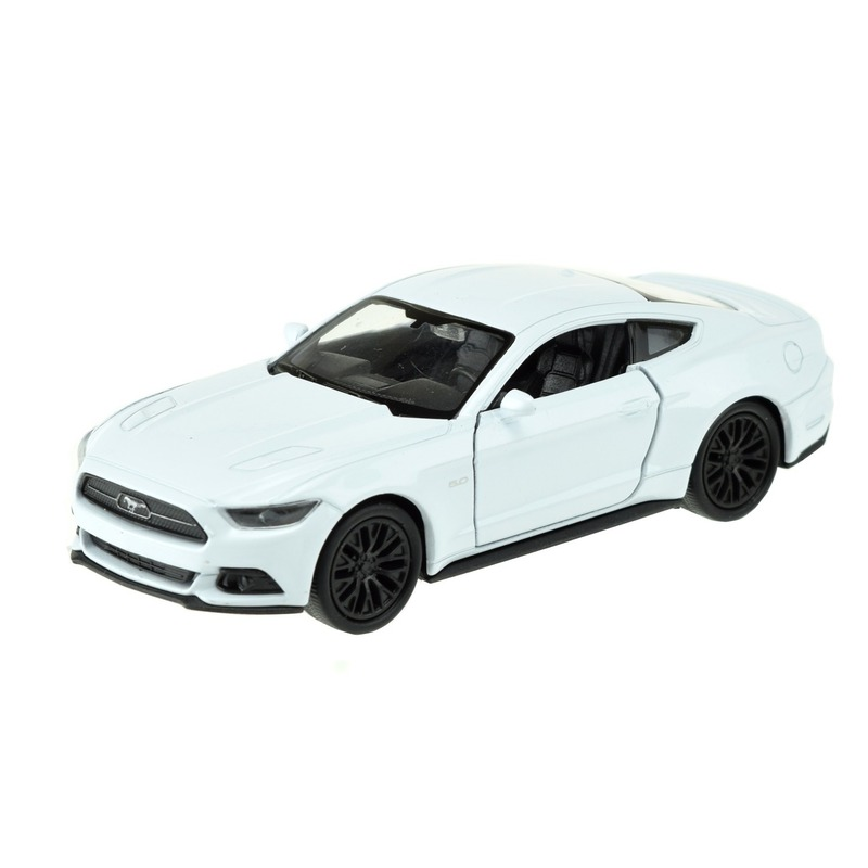 Speelgoedauto Ford Mustang GT wit 1:36