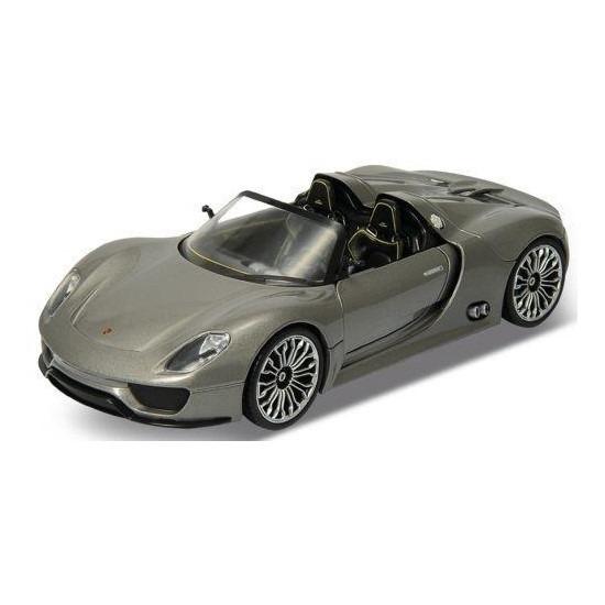 Speelgoedauto Porsche 918 Spyder grijs 1:36