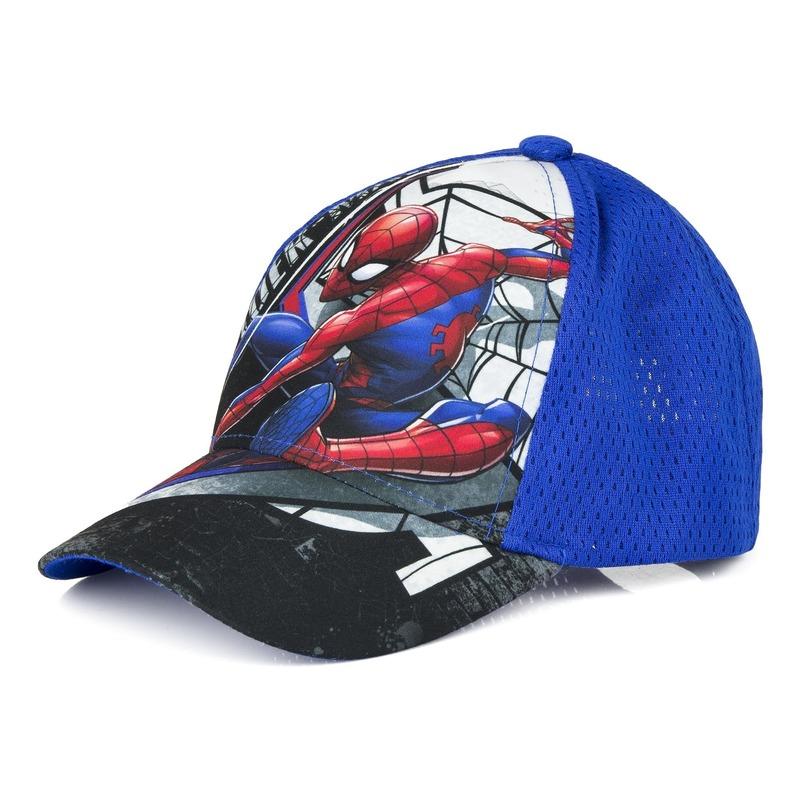 Spiderman petje blauw voor jongens Marvel Beste kwaliteit