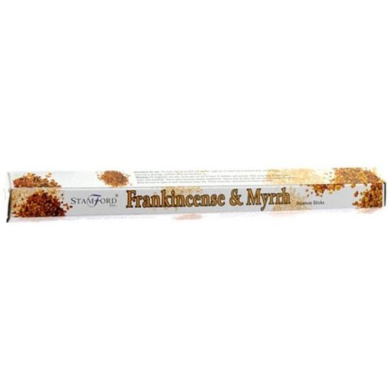 Stamford wierookstokjes hars en mirre geur