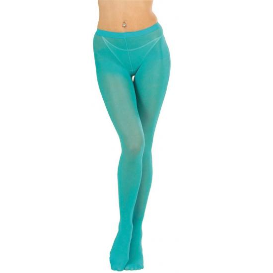 Turquoise panty voor dames