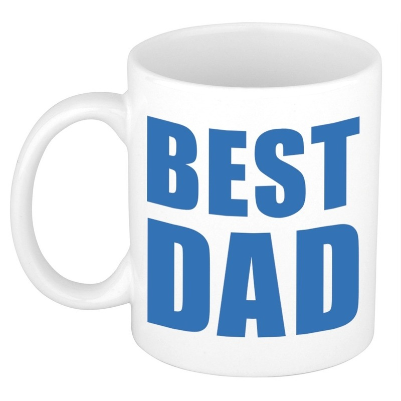 Vaderdag cadeau mok / beker Best Dad 300 ml