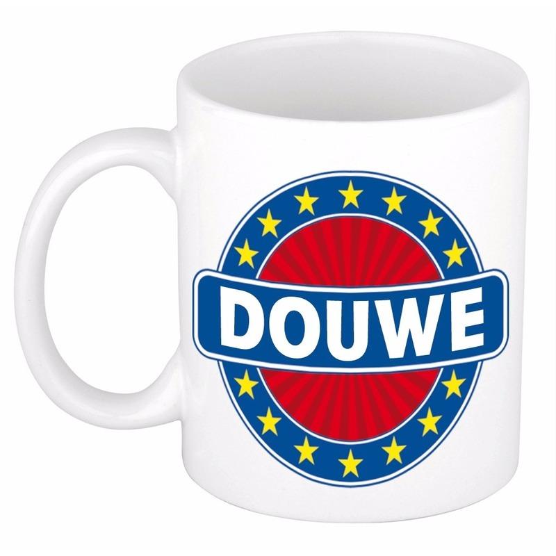 Voornaam Douwe koffie/thee mok of beker