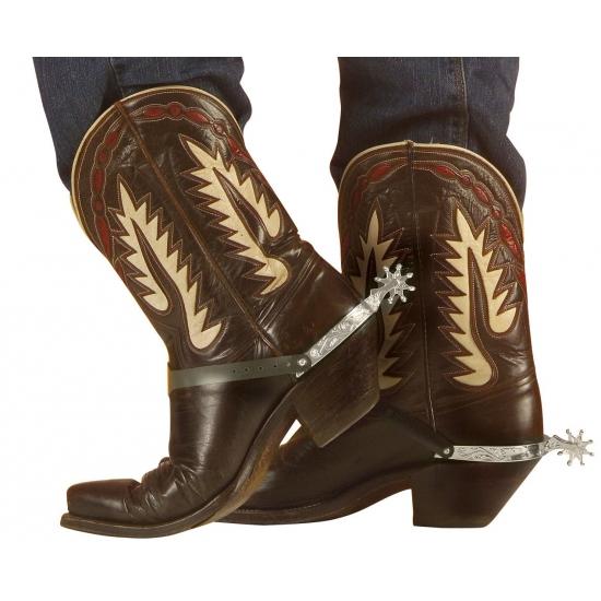 Western kostuum accessoires sporen