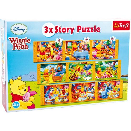 Winnie De Poeh Puzzels 9 Stuks