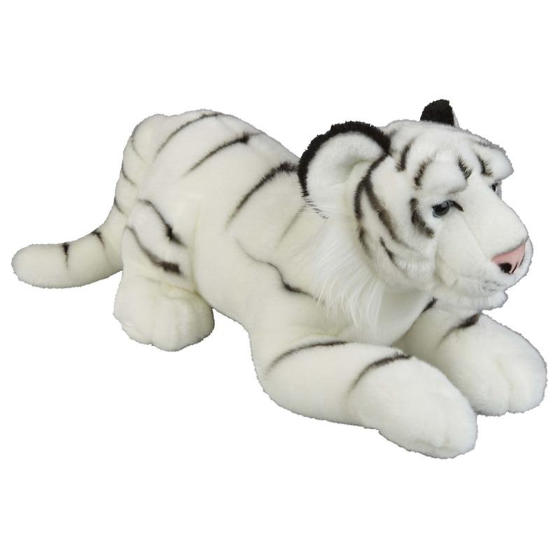 Witte tijgers knuffels 50 cm knuffeldieren