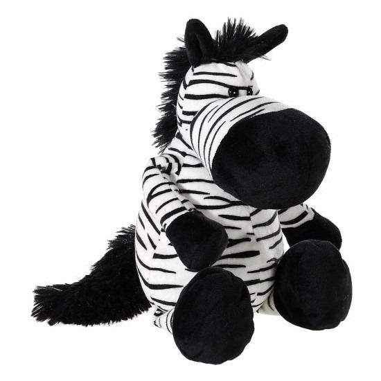Zebra knuffeldier pluche 33 cm