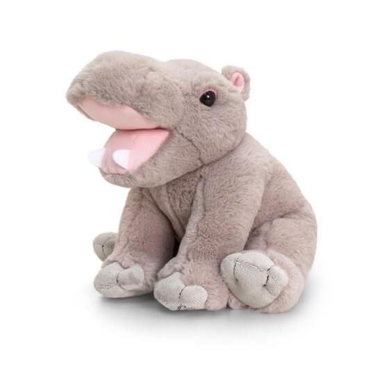 Zittende Nijlpaard Knuffeldier 25cm