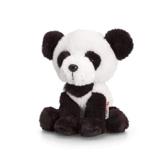 Zittende Pluche Panda Knuffel 14cm