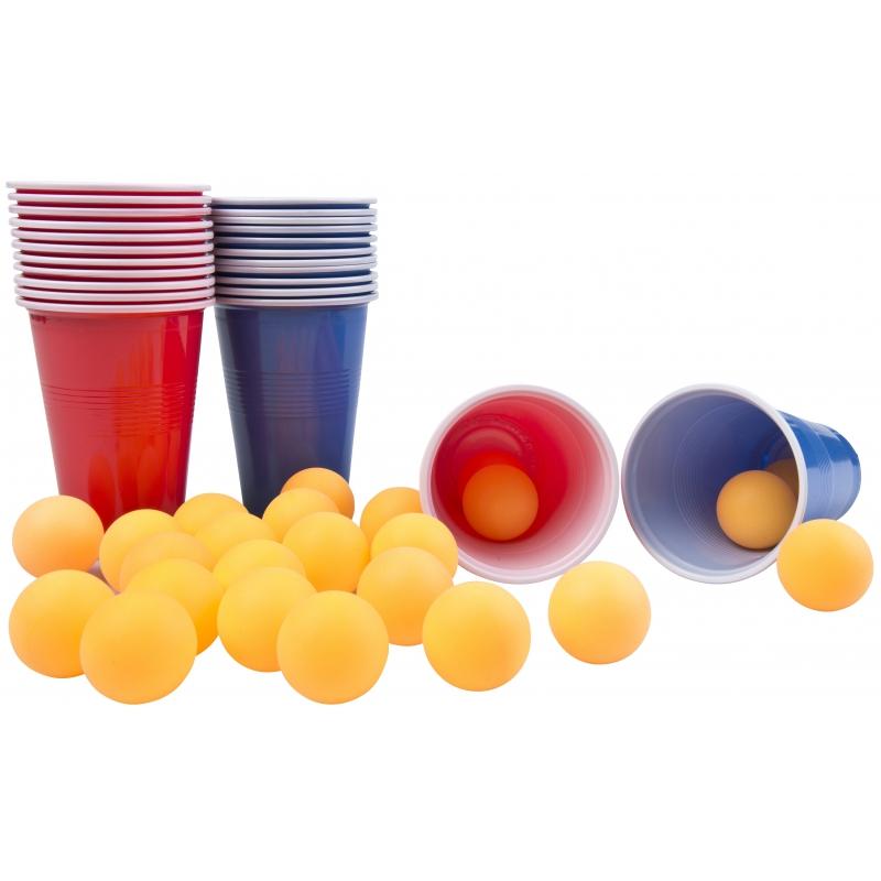 Bier Pong drankspelletjes 48 delig
