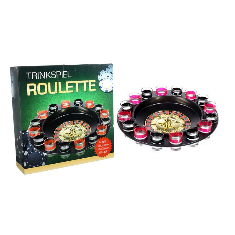 Drankspel-drinkspel shot roulette 29 cm
