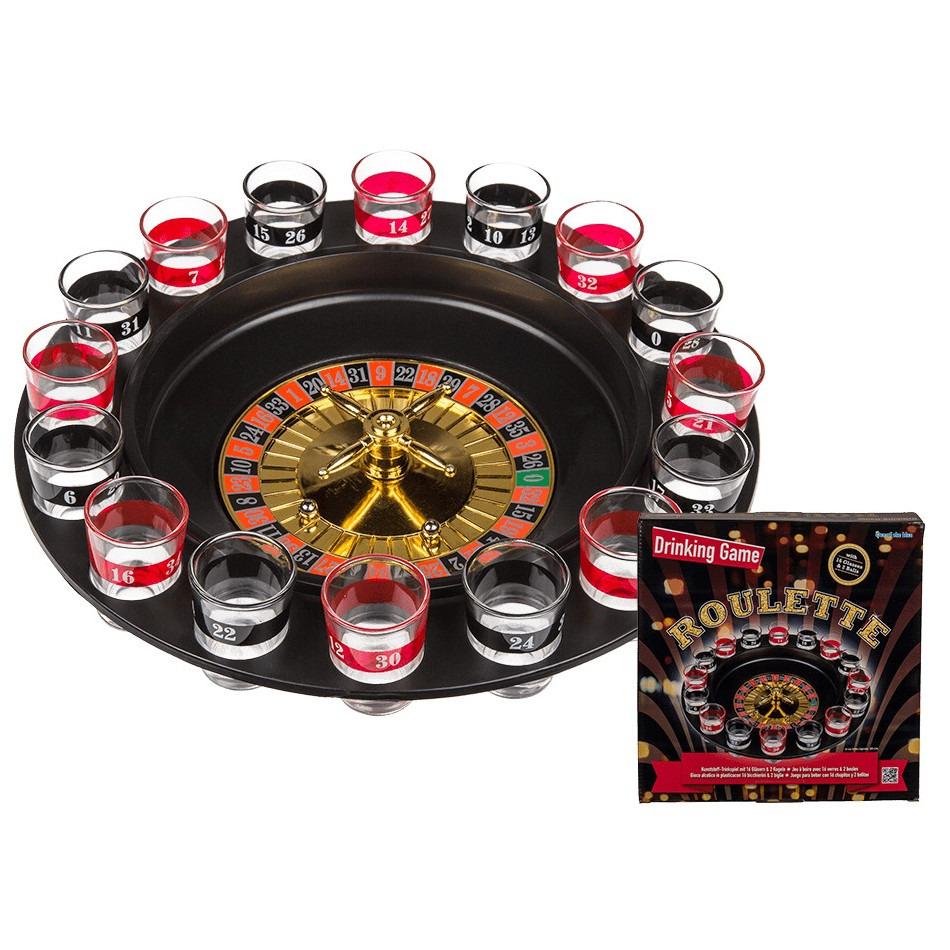 Drankspellen shotjes roulette