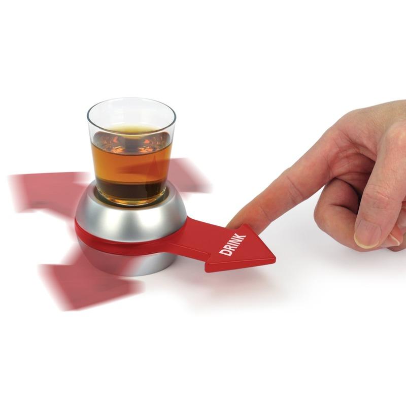 Feest drankspelletje-drinkspelletje Spin the Shot-Draai de Pijl