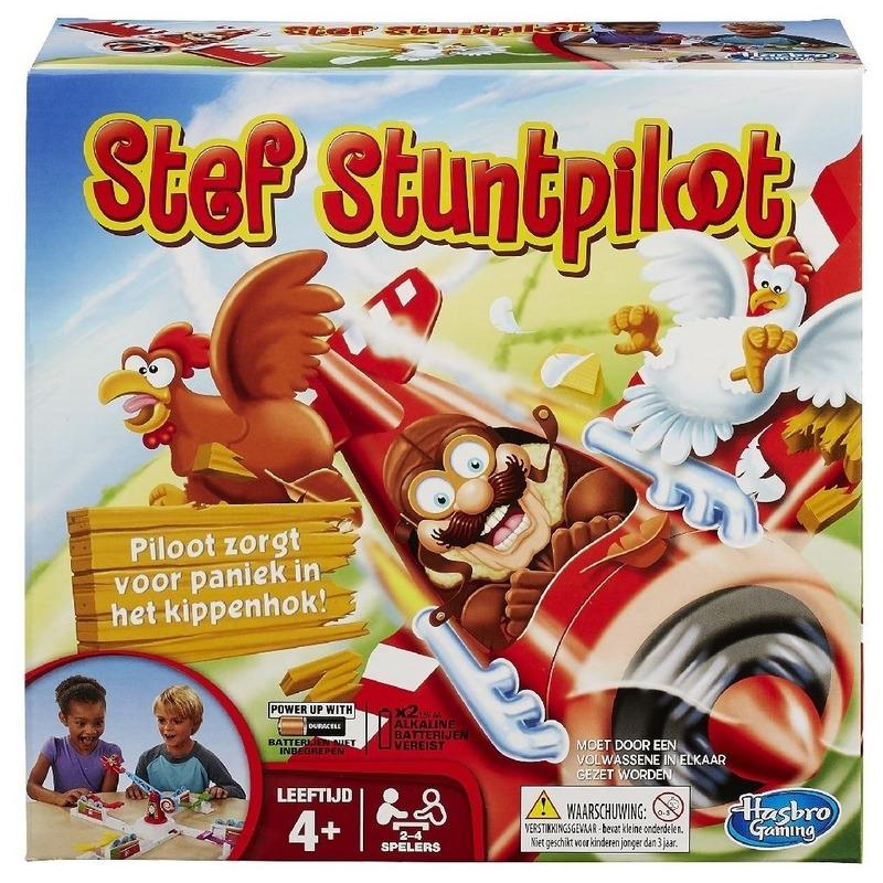 MB-Hasbro Stef de Stuntpiloot spel