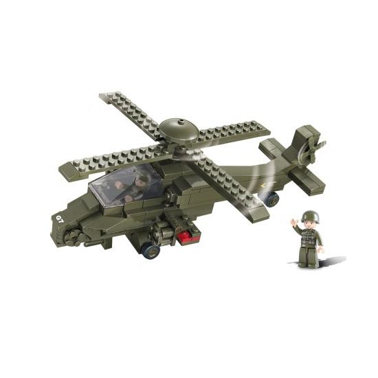 Sluban bouwstenen Gevechtshelikopter 28.5 cm