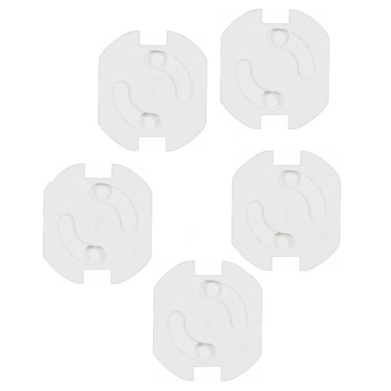 Stopcontactbeveiligers wit 5 stuks